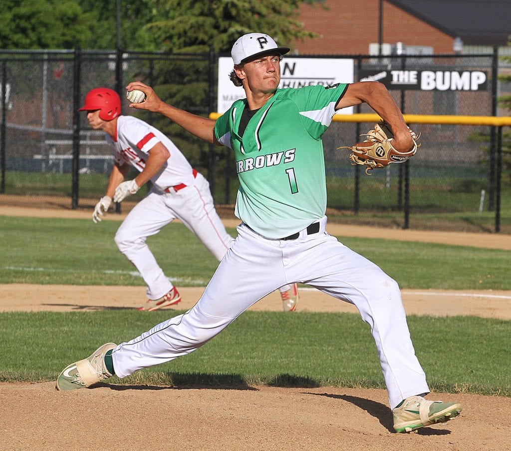 Web First: Arrows bow out of Section 3AA baseball tournament