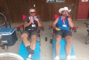 Another 'cracking' experience: Pipestone's Pete Hanson and new friend Petr Ineman tie for third place at 2020 Trans South Dakota Race